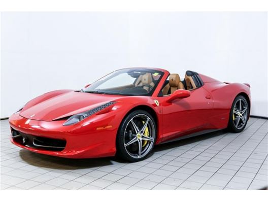 2013 Ferrari 458 Spider for sale in Norwood, Massachusetts 02062