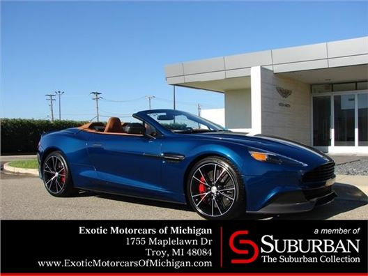 2016 Aston Martin Vanquish for sale in Troy, Michigan 48084