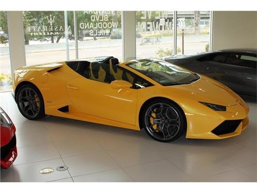 2016 lamborghini huracan spyder for sale in woodland hills california gocars gc 19524. Black Bedroom Furniture Sets. Home Design Ideas