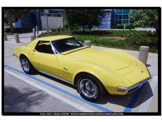 1970 Chevrolet Corvette for sale in Sarasota, Florida 34232