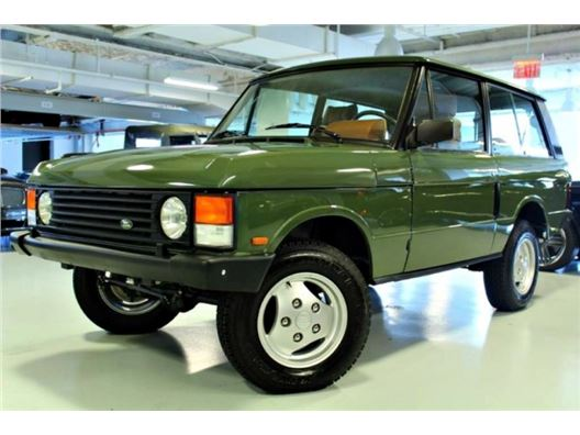 1986 Land Rover Range Rover for sale in New York, New York 10019