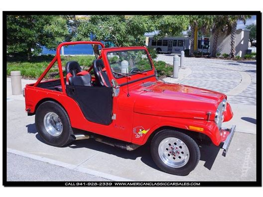 1977 Jeep Wrangler for sale in Sarasota, Florida 34232