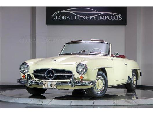 1963 Mercedes-Benz SL 190 for sale in Burr Ridge, Illinois 60527