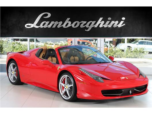 2013 Ferrari 458 Italia Spider for sale in Woodland Hills, California 91364
