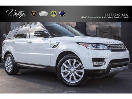2014 Land Rover Range Rover Sport for sale in North Miami Beach, Florida 33181