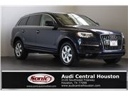 2015 Audi Q7 for sale in Houston, Texas 77079