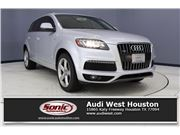 2010 Audi Q7 for sale in Houston, Texas 77079