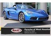 2017 Porsche 718 Boxster for sale in Houston, Texas 77079