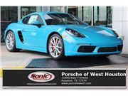 2017 Porsche 718 Cayman for sale in Houston, Texas 77079