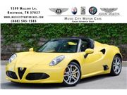2016 Alfa Romeo 4C Spider for sale in Franklin, Tennessee 37067
