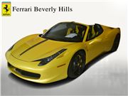2014 Ferrari 458 Spider for sale in Beverly Hills, California 90212