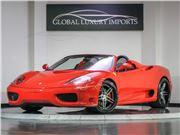 2003 Ferrari 360 Spider for sale in Burr Ridge, Illinois 60527
