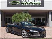 2012 Audi R8 GT 5.2 quattro Spyder for sale in Naples, Florida 34104