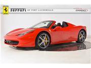 2014 Ferrari 458 Spider for sale in Fort Lauderdale, Florida 33308