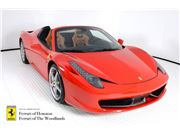 2014 Ferrari 458 Spider for sale in Houston, Texas 77057