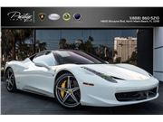 2011 Ferrari 458 Italia for sale in North Miami Beach, Florida 33181