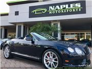 2014 Bentley Continental GTC V8 S for sale in Naples, Florida 34104