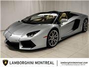 2013 Lamborghini Aventador Roadster for sale in Montreal, Quebec H9H 4M7 Canada