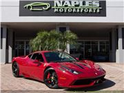 2015 Ferrari 458 Speciale for sale in Naples, Florida 34104