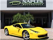 2010 Ferrari 458 for sale in Naples, Florida 34104