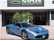 2015 Ferrari 458 Speciale for sale in Naples, Florida 34104