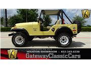 1973 Jeep CJ5 for sale in Houston, Texas 77090