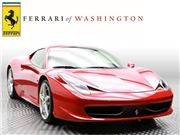 2014 Ferrari 458 Italia for sale in Sterling, Virginia 20166