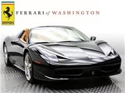2013 Ferrari 458 Spider for sale in Sterling, Virginia 20166