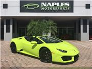 2017 Lamborghini Huracan Lp 580-2 Spyder for sale in Naples, Florida 34104