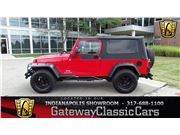2004 Jeep Wrangler for sale in Indianapolis, Indiana 46268