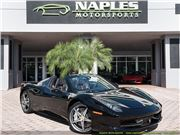 2015 Ferrari 458 Spider for sale in Naples, Florida 34104