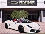 2012 Lamborghini Gallardo LP 560-4 Spyder for sale in Naples, Florida 34104