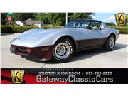 1982 Chevrolet Corvette for sale in Houston, Texas 77090