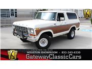 1978 Ford Bronco for sale in Houston, Texas 77090