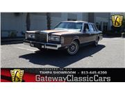1988 Lincoln Town Car for sale in Ruskin, Florida 33570