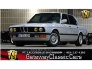 1985 BMW 528E for sale in Coral Springs, Florida 33065