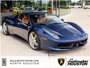 2014 Ferrari 458 Italia for sale in Houston, Texas 77090