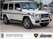 2016 Mercedes-Benz G for sale in Houston, Texas 77090