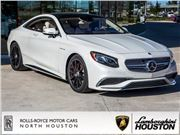 2016 Mercedes-Benz S-Class for sale in Houston, Texas 77090