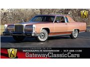 1978 Lincoln Town Coupe for sale in Indianapolis, Indiana 46268