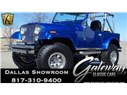 1979 Jeep CJ7 for sale in DFW Airport, Texas 76051