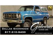 1977 Chevrolet K5 Blazer for sale in DFW Airport, Texas 76051