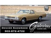 1968 Chevrolet El Camino for sale in Englewood, Colorado 80112