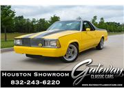 1980 Chevrolet El Camino for sale in Houston, Texas 77090