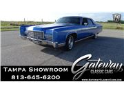 1972 Lincoln Continental for sale in Ruskin, Florida 33570