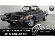 1982 Mercedes-Benz 380SL for sale in Dearborn, Michigan 48120