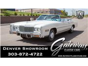 1976 Cadillac Eldorado for sale in Englewood, Colorado 80112