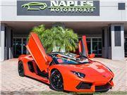 2015 Lamborghini Aventador LP 700-4 for sale in Naples, Florida 34104