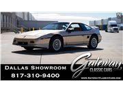 1987 Pontiac Fiero for sale in DFW Airport, Texas 76051