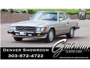 1989 Mercedes-Benz 560SL for sale in Englewood, Colorado 80112